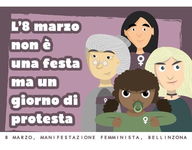 8 marzo 2020: torna lo sciopero delle donne!
