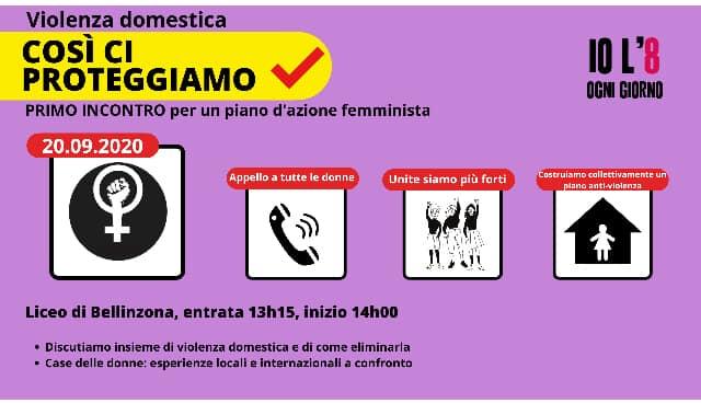 Violenza domestica. 1° incontro per un piano d'azione femminista