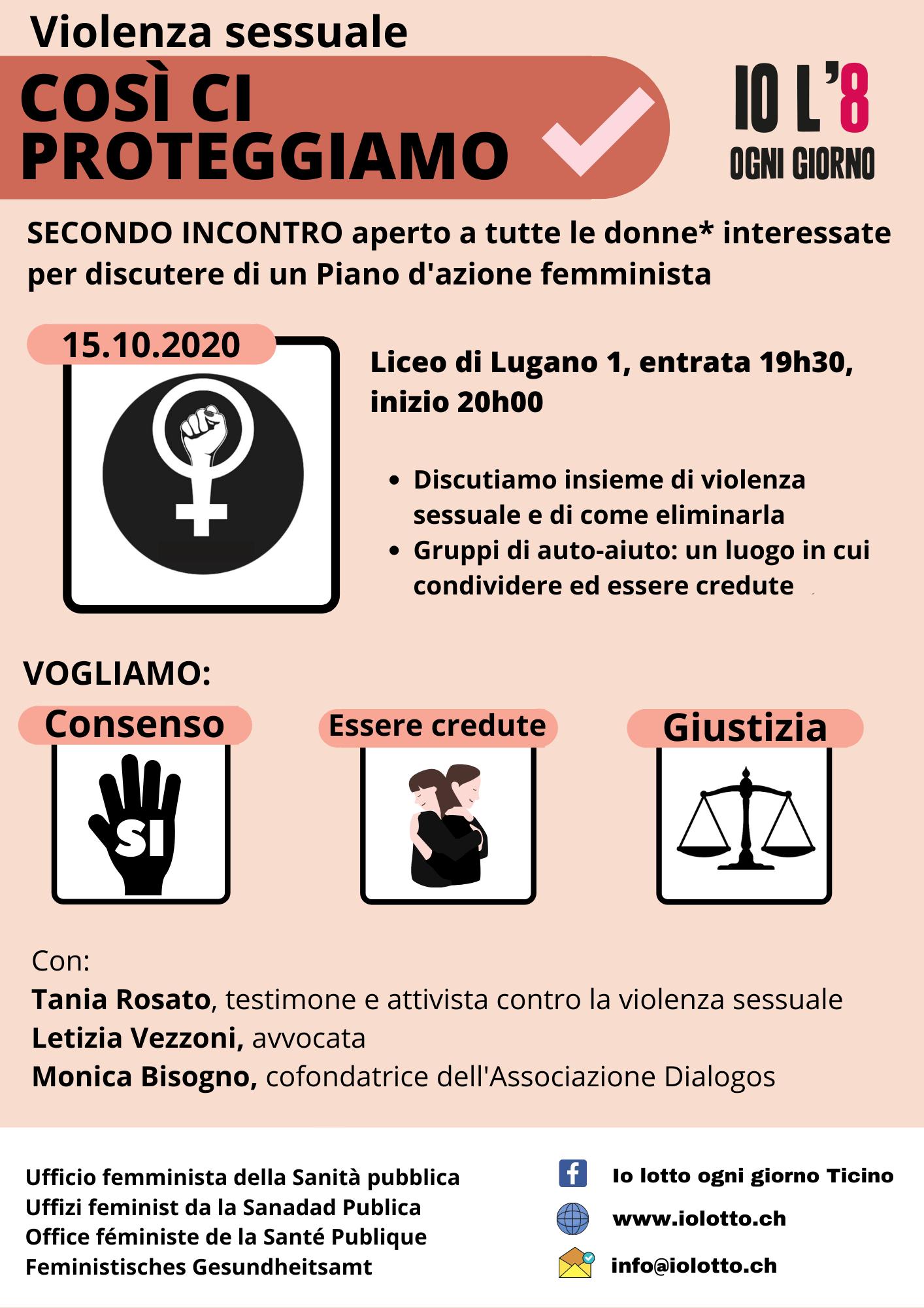 Così ci proteggiamo - secondo incontro per un Piano d'azione femminista