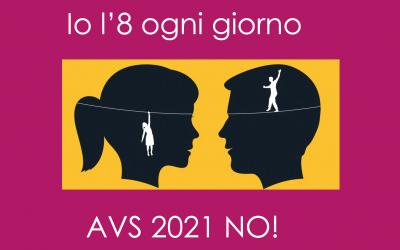 Riforma dell'AVS 2021: le ragioni del nostro NO