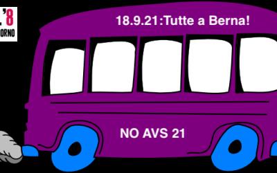 Andiamo tutte in BUS a Berna!