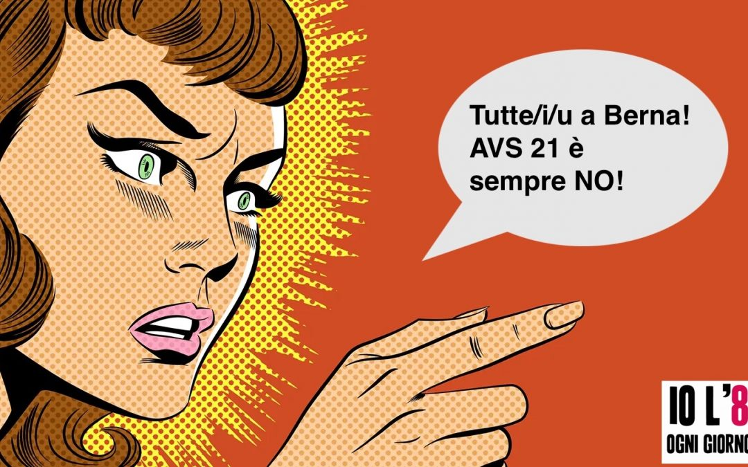 Manifestazione nazionale contro AVS21